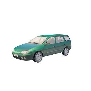 商务小<font class='myIsRed'>汽车</font>3d模型