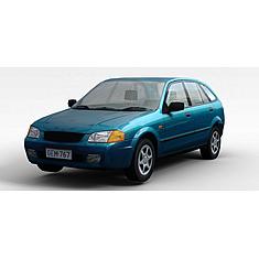 蓝色小汽车3D模型3d模型
