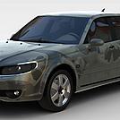 宝马轿车模型
