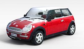 迷你车3d模型