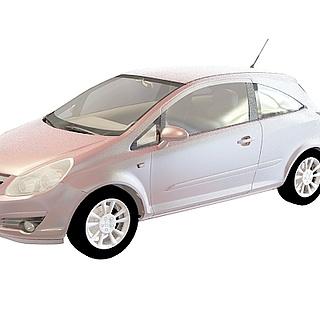 欧宝小轿<font class='myIsRed'>车</font>3d模型