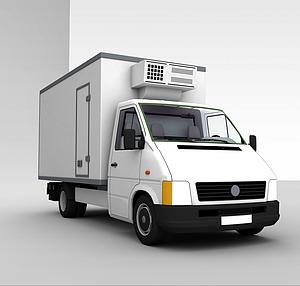 3d单厢式<font class='myIsRed'>货车</font>模型