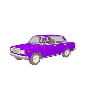 老式<font class='myIsRed'>汽车</font>3d模型