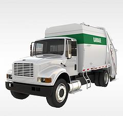 垃圾清理车3D模型3d模型