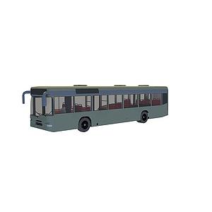 3d超長<font class='myIsRed'>公交車</font>模型