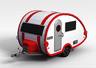 快餐车3d模型