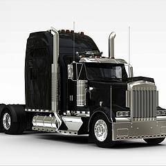 货车车头3D模型3d模型