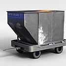 垃圾车箱模型