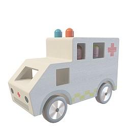 儿童救护车玩具3d模型