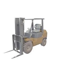 搬运货物车3D模型3d模型