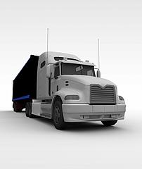 运输车模型3d模型