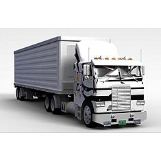 厢式货车3D模型3d模型