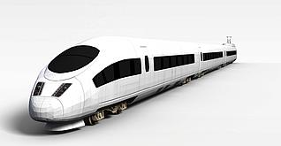 3d高铁模型