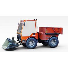 铲土车3D模型3d模型