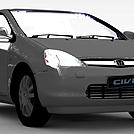 本田微型车模型