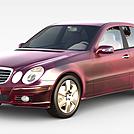 奔驰中级轿车模型