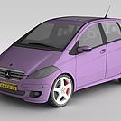 奔驰小轿车模型