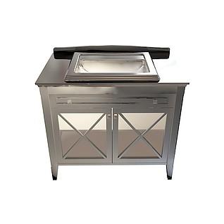 不锈钢洗手池3d模型