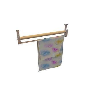 卫浴架3d模型
