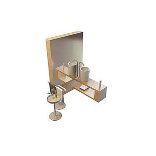 家庭卫浴3d模型