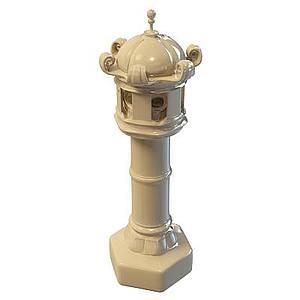 石艺雕塑路灯模型