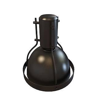 展会筒灯3d模型