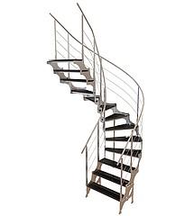 不锈钢扶手梯模型3d模型