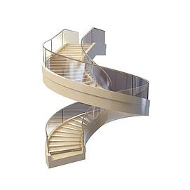 3d大型<font class='myIsRed'>旋转楼梯</font>模型
