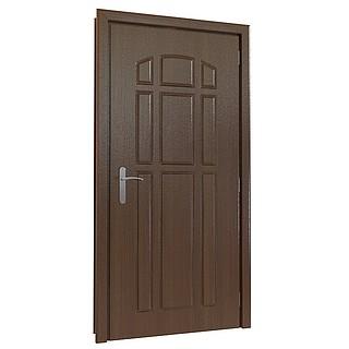 室内平开木门3d模型