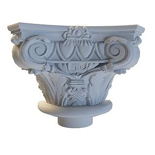 雕花柱3d模型