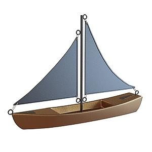 3d實木<font class='myIsRed'>帆船</font>模型