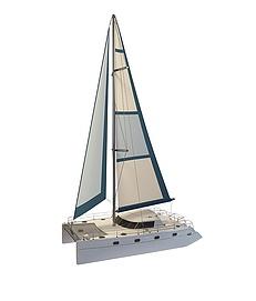 单人小<font class='myIsRed'>帆船</font>3d模型