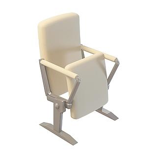 剧院椅3d模型