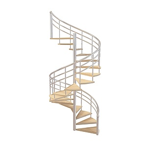 3d现代楼梯模型