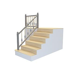 少台阶楼梯3d模型