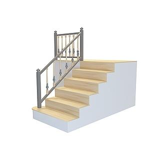 少台阶<font class='myIsRed'>楼梯</font>3d模型