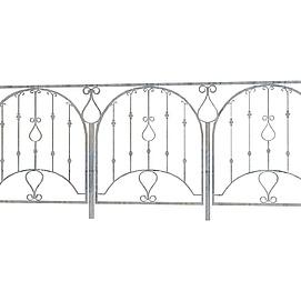 3d铁艺扶手模型
