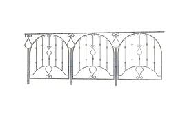 铁艺扶手3d模型