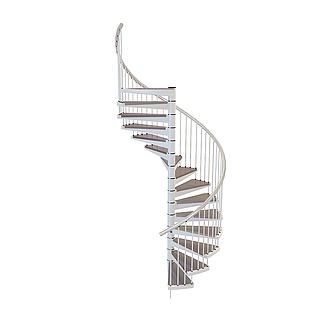 旋转楼梯3d模型