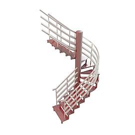 <font class='myIsRed'>旋转楼梯</font>3d模型