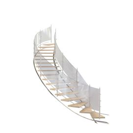 3d玻璃<font class='myIsRed'>旋转楼梯</font>模型