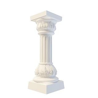 柱头3d模型