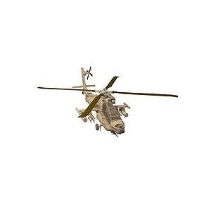 3d阿帕奇戰斗機模型