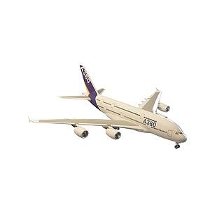 客机3d模型