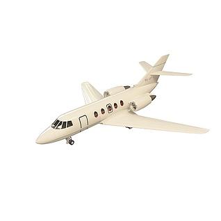 小型客机3d模型