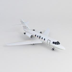 3d小型客机模型