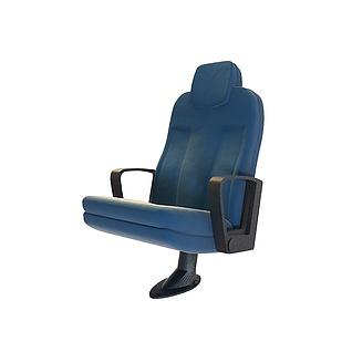 动车座椅3d模型