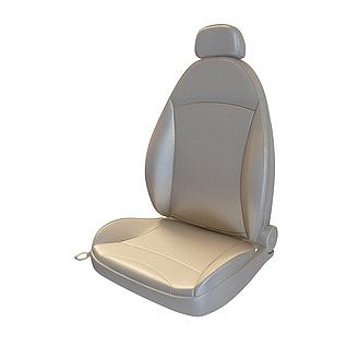 汽车真皮座椅3d模型