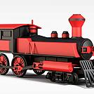 火车头模型