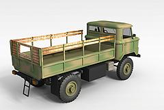 军队运输车模型3d模型